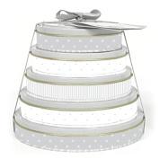 Child to Cherish Baby Handprint Tower Of Time Kit, Grey