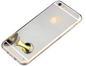 iPhone 5S Case, iPhone SE Case, PHEZEN Luxury Bling Mirror Makeup Case Shock-Absorption TPU Bumper Anti-Scratch Bright Reflection Protective Case for iPhone SE/5/5S