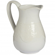 Hill Interiors Lace Detail Traditional Jug (One Size)