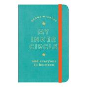 My Inner Circle Vegan Leather Address Book Keeper