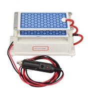 Atwfs Portable Ozone Generator Car Ceramic Plate Dc12v 3.5g/5g/7g Air Purifier