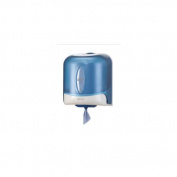 E022372 Tork Reflex Centrefeed Wiper Dispenser Plastic Blue