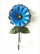 Vintage Iron with Fashion Crystal Diamond Sunflower Decorative Wall Hook ,Cut Key Hat Cloth Towel Bag Wall Hanger Wardrobe Hooks