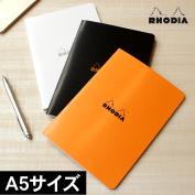 RHODIA classical music stapler flagging down notebook