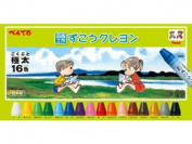 Pentel / crayon 16 colours /PTCG1-16