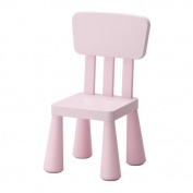 IKEA MAMMUT - Children's chair, light pink