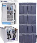 16 Pockets Over Door Hanging Bag Shoes Rack Hanger Storage Organiser Home