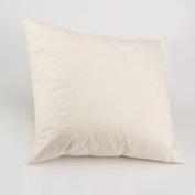 """Luxury New White Duck Feather Cushion Pad Inner Insert - 14 x 14 """" (35 x 35 cm) - 100% Natural Cotton Anti Dust Mite And Down Proof Cover"""