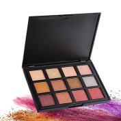 DONGXIUB Smoky Eyes 12 Colour Eyeshadow Palette Shimmer Matte Eye Shadow Makeup Set