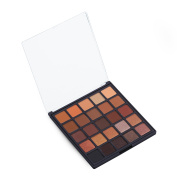 Allwon Professional Eyeshadow Palette Makeup Copper Spice Matte Shimmer Warm Neutral Eye Shadows, 25 Colours