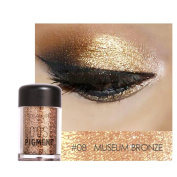 Misaky12 Colour Misaky Classy Intensity Single Baked Shimmer Pearl Metallic Pigmented Eyeshadow Highlighter Pigment Palette
