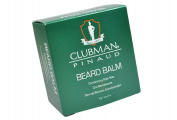 Clubman Beard Balm Conditioning Style Wax Classic scent Soy protein and coconut oil maks facial hair more manageable : 59 g