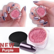 Fabal 2g/Box Gold Sliver Nail Glitter Powder Shinning Nail Mirror Powder