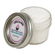 Sugar Delights Luxurious Vanilla Bean 180ml Shower Fizzie Mix in Glass Jar
