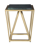 Treasure Trove 17387 Accent Table Not Applicable, Green/Gold