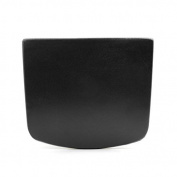 DealMux 28cm x 24cm Soft Sponge Foam Padded Spa Bath Pillow w/ 2 Suction Cups for Bathtubs Hot Tub Jacuzzi Black