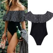 LUNIWEI Women One-Piece Swimsuit Beachwear Swimwear Push Up Monokini
