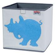 Trend Lab Dr. Seuss Horton Storage Bin, Blue/Grey