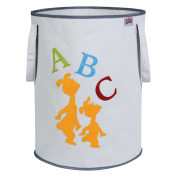 Trend Lab Dr. Seuss ABC Storage Tote, Yellow/Green/Red/Blue/Grey