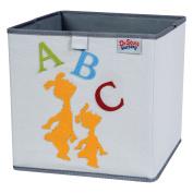 Trend Lab Dr. Seuss ABC Storage Bin, Yellow/Green/Red/Blue/Grey