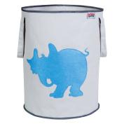 Trend Lab Dr. Seuss Horton Storage Tote, Blue/Grey