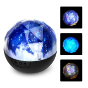 Universe Led Projector Lamp Starry Sky Birthday Night Light Dimmable Rotatable Perfect Gift for Kids