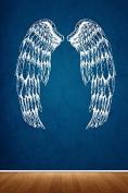 Wall Sticker Decals Angel Wings Cute Feathers Kids Girls Nursery Teen Bedroom 1412b