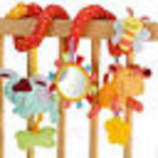 Fang sky Cute Animal Handbells Developmental Toy Bed Bells Rattle Soft Toys For Kids Baby