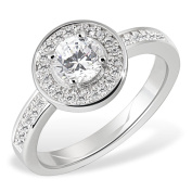 Goldmaid Sterling Silver Ring 64 Cubic Zirconia