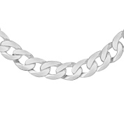 Tuscany Silver Sterling Silver Men's 450 PG Curb Chain of 46cm