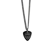 Guess Men Necklace Stainless Steel black Coast to Coast UMN21503