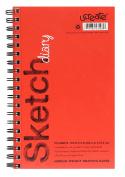 Ucreate 53008 Sketch Book, 24cm x 15cm , 70 Sheets, 26kg.