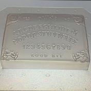 Flexible Plastic Ouija Board Soap or Chocolate Mould 8.9cm x 6.4cm x 1.9cm