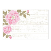 Cottage Rose Enclosure Cards / Gift Tags - 3 1/2 x 2 1/4
