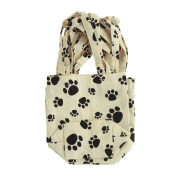 Homeford Animal Print Cotton Tote Bags, 6-Piece