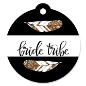 Bride Tribe - Bridal Shower & Bachelorette Party Favour Gift Tags