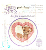 "Precious Moments Counted Cross Stitch Kit - ""You Are Always In My Heart"""