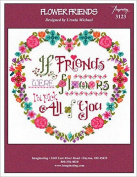 Flower Friends Cross Stitch Chart and Free Embellishment