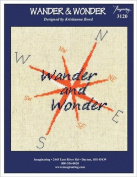 Wander & Wonder Cross Chart and Free Embellishment