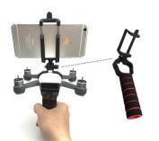 GDD2018 DJI SPARK Portable Handle PTZ Gimbal Stabiliser Carrier Bracket Kit 3D Printed