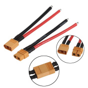 Dairyshop Battery XT60 Connector Male Cable Female Plug Wire 10cm for DJI Phantom 1 Pair