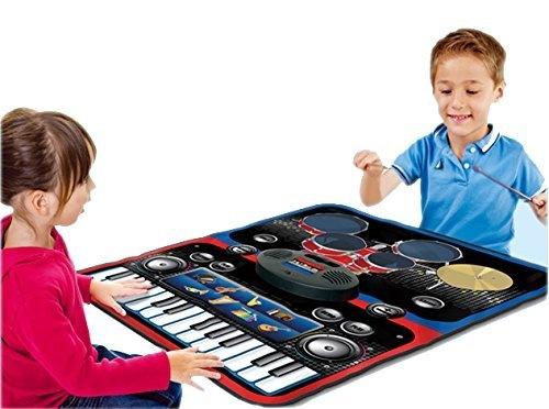 8Eninine USB Electronic Drum G3002 Drum Kit Drum Set Percussion Instrument For Children Kitchen Storage & Organisation Home & Kitchen