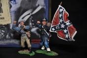 Britains 17013 Save The Colours American Civil War Metal Toy Soldier Figure Set