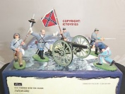 Britains 17244 Forward With The Colours Metal Toy Soldier Figure Set