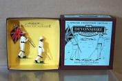 Britains 8864 Devonshire Regiment Officer & Colours Mint Boxed Nj