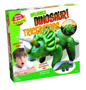 Small World Toys Nature - Inflatable Dinosaur! Triceratops Kit, 120cm