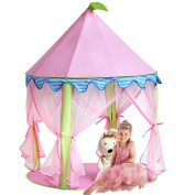 Girl's Princess Castle Tentsonyabecca Pink Playhouse For Girls Pop Up Tent Re...