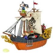 Deluxe Captain Pirate Ship Playset
