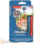 Paw Patrol Tattoodles Childrens 50 X Temporary Tattoos & Metallic Pens