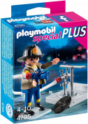 Playmobil 4795 Specials Plus Fireman With Hose